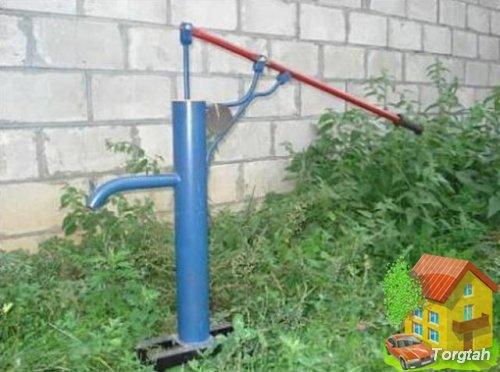 Колонка ручная для скважины